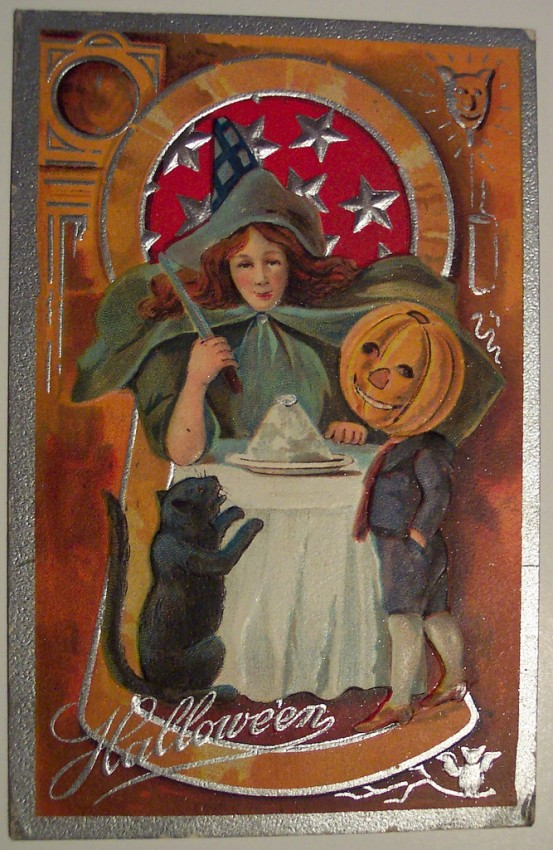 Ilustraciones Halloween antiguas 061