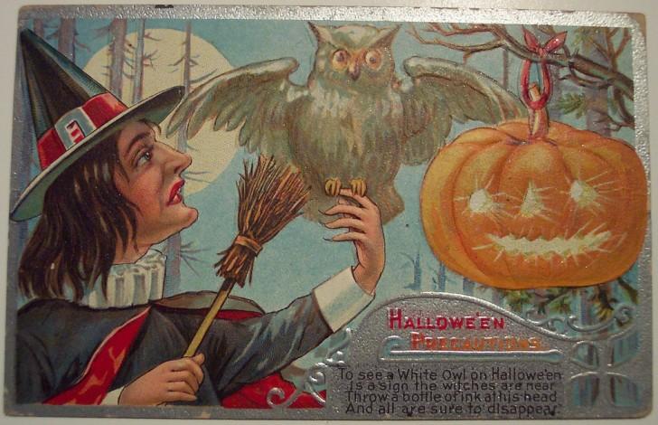 Ilustraciones Halloween antiguas 062