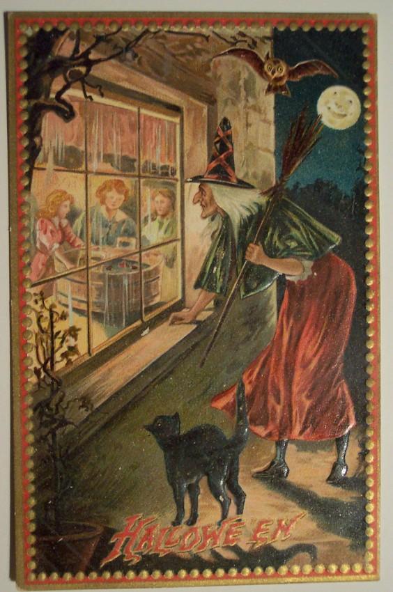 Ilustraciones Halloween antiguas 065