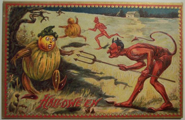 Ilustraciones Halloween antiguas 067