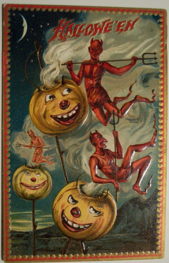 Ilustraciones Halloween antiguas 068