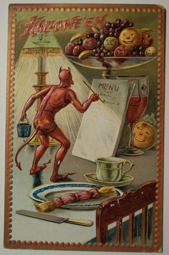 Ilustraciones Halloween antiguas 069