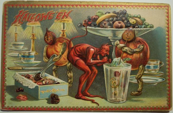 Ilustraciones Halloween antiguas 070