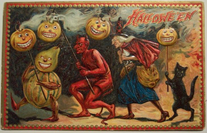 Ilustraciones Halloween antiguas 071