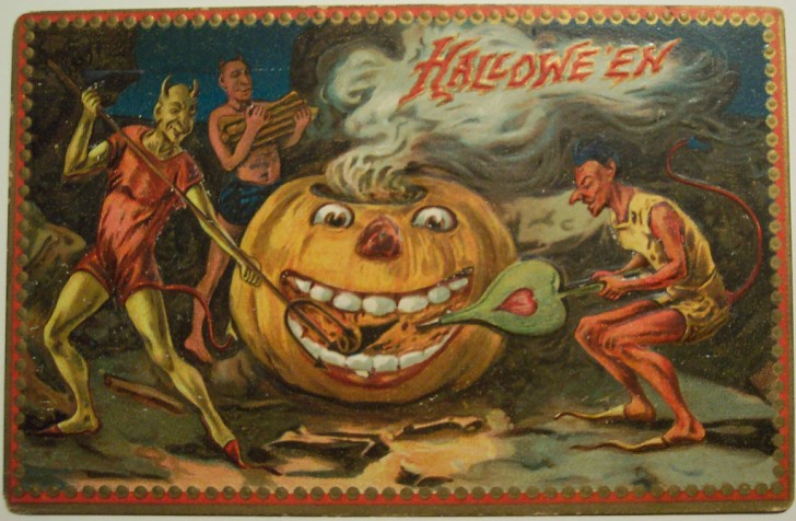 Ilustraciones Halloween antiguas 072