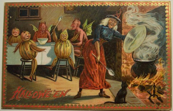Ilustraciones Halloween antiguas 073