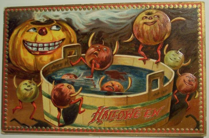 Ilustraciones Halloween antiguas 074