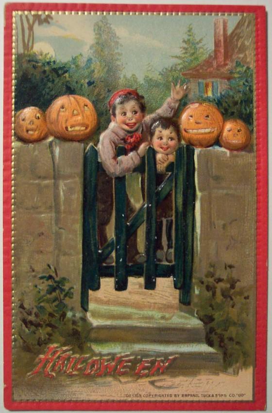 Ilustraciones Halloween antiguas 075