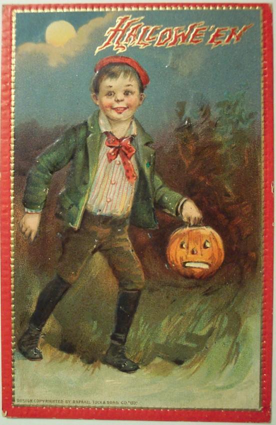 Ilustraciones Halloween antiguas 076