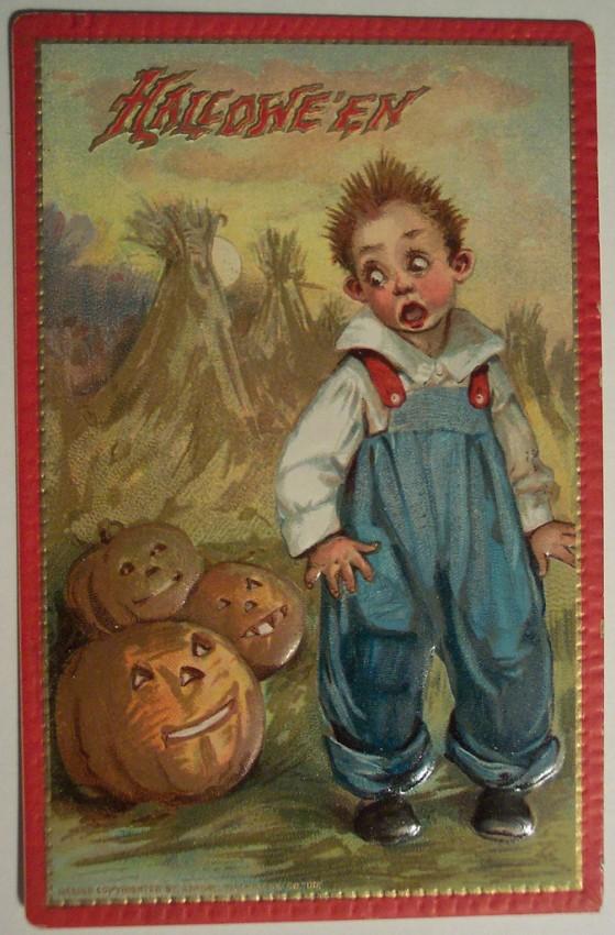 Ilustraciones Halloween antiguas 077