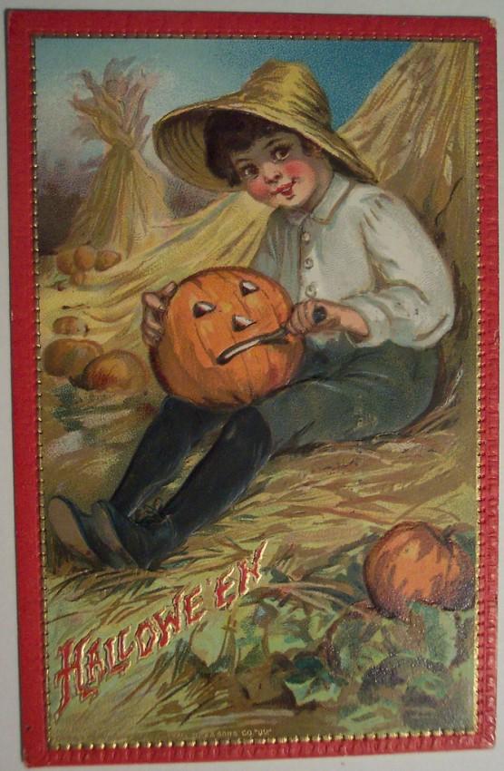 Ilustraciones Halloween antiguas 078