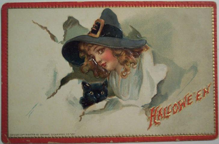Ilustraciones Halloween antiguas 079