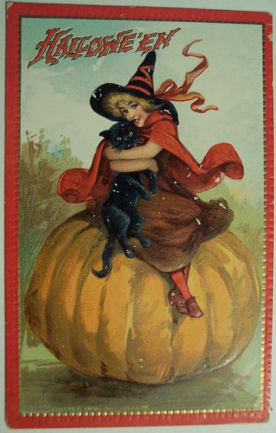 Ilustraciones Halloween antiguas 080