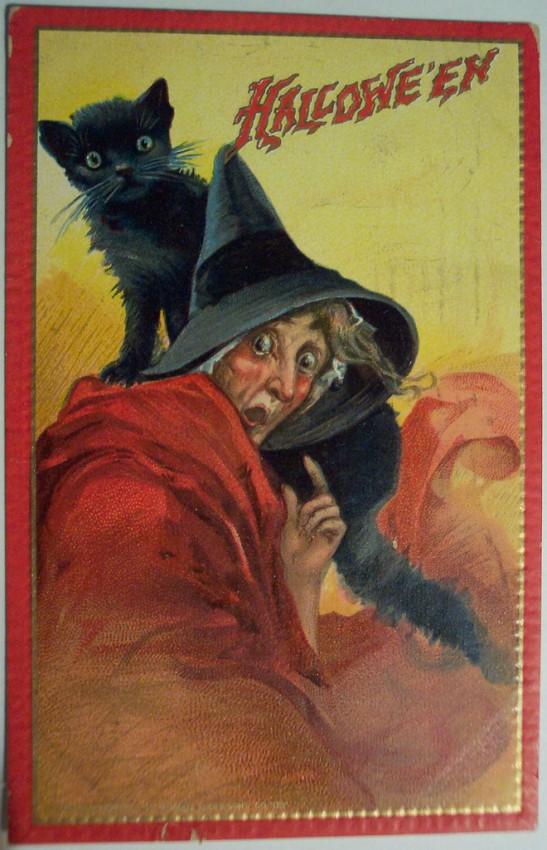 Ilustraciones Halloween antiguas 081