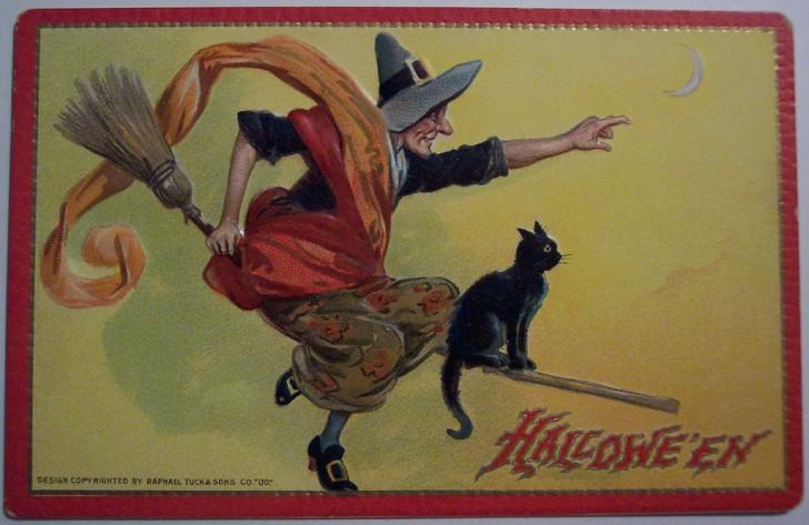 Ilustraciones Halloween antiguas 082