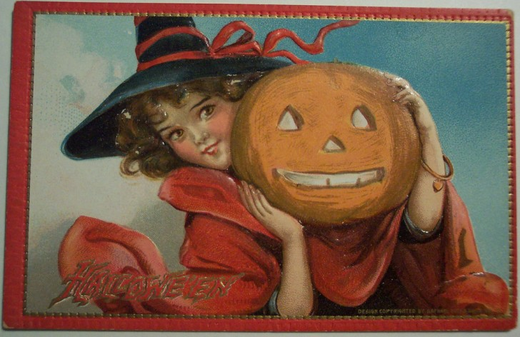Ilustraciones Halloween antiguas 085