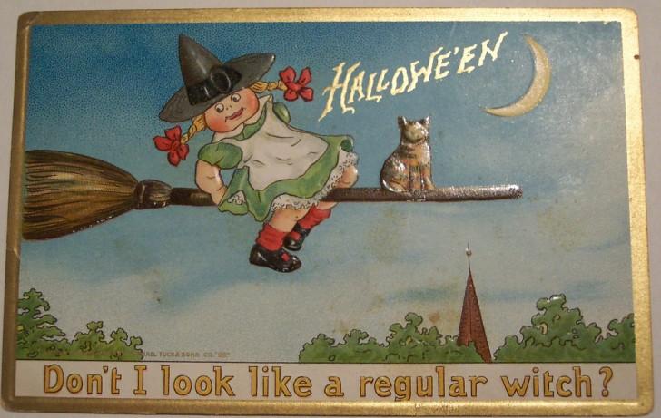 Ilustraciones Halloween antiguas 088