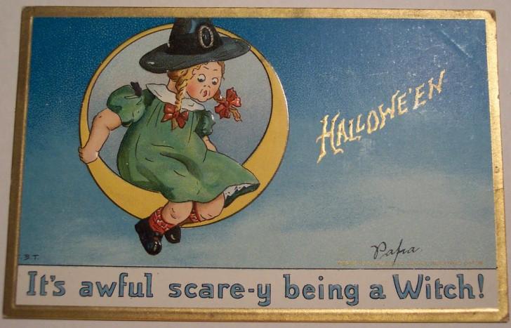 Ilustraciones Halloween antiguas 091
