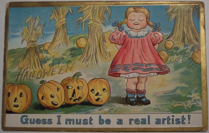 Ilustraciones Halloween antiguas 093
