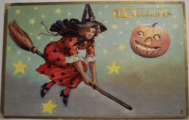 Ilustraciones Halloween antiguas 094