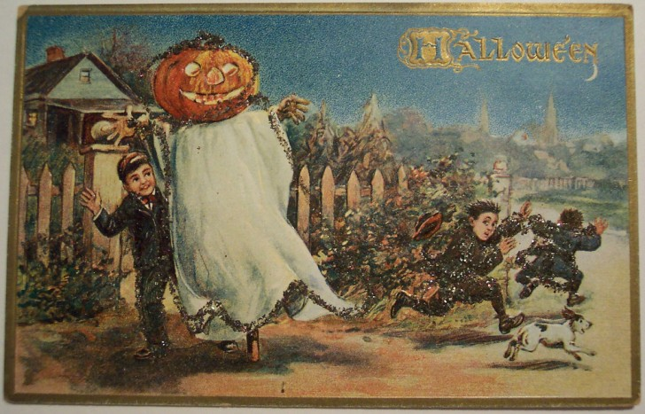 Ilustraciones Halloween antiguas 096