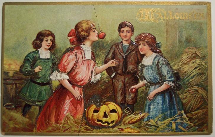 Ilustraciones Halloween antiguas 097