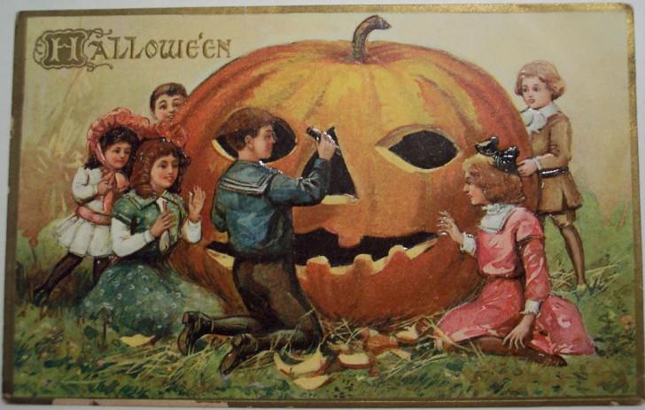 Ilustraciones Halloween antiguas 098
