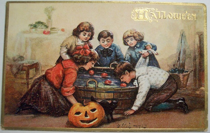 Ilustraciones Halloween antiguas 099