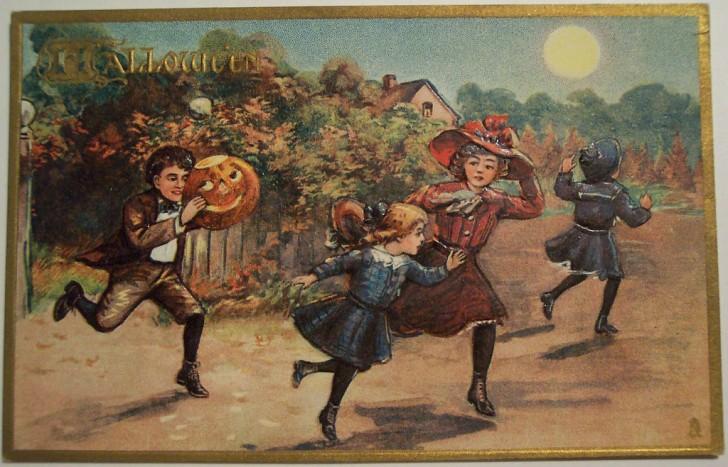 Ilustraciones Halloween antiguas 100