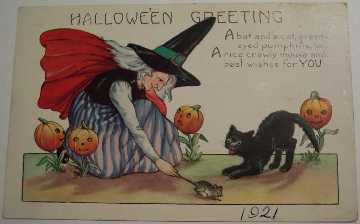 Ilustraciones Halloween antiguas 102