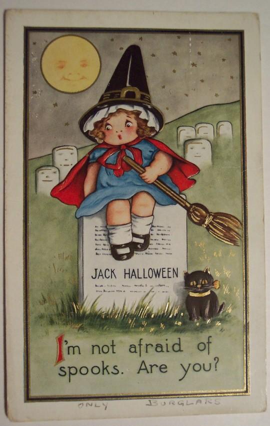 Ilustraciones Halloween antiguas 103