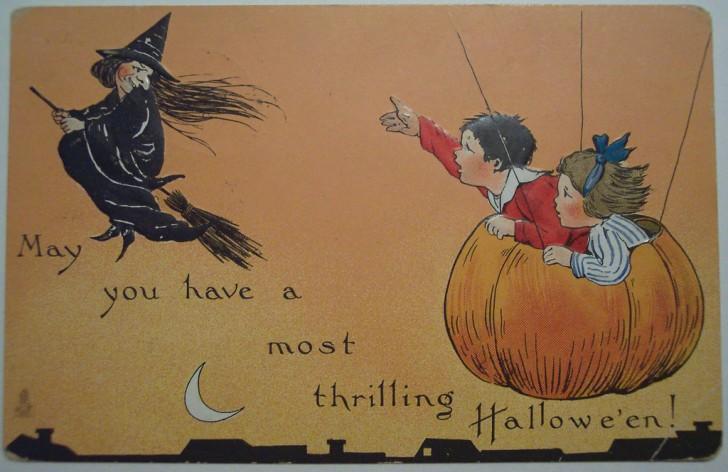 Ilustraciones Halloween antiguas 104