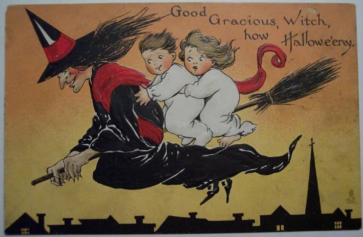 Ilustraciones Halloween antiguas 105