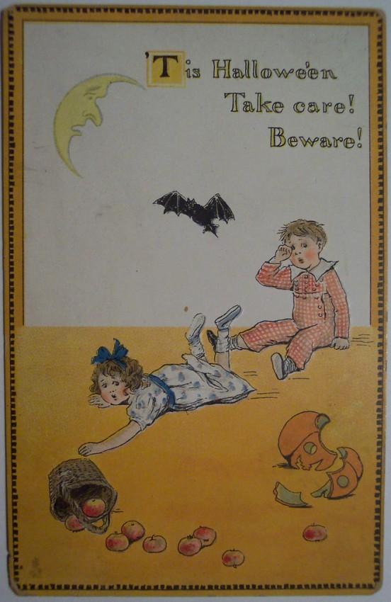 Ilustraciones Halloween antiguas 106