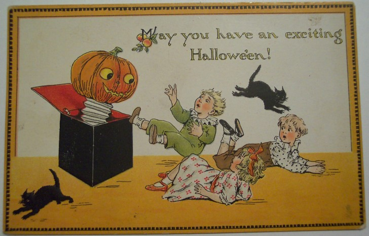 Ilustraciones Halloween antiguas 108