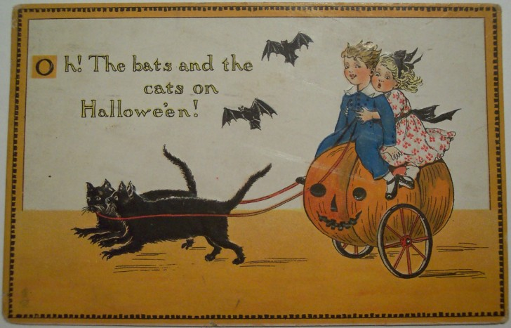Ilustraciones Halloween antiguas 109