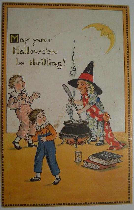Ilustraciones Halloween antiguas 110