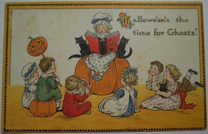 Ilustraciones Halloween antiguas 111