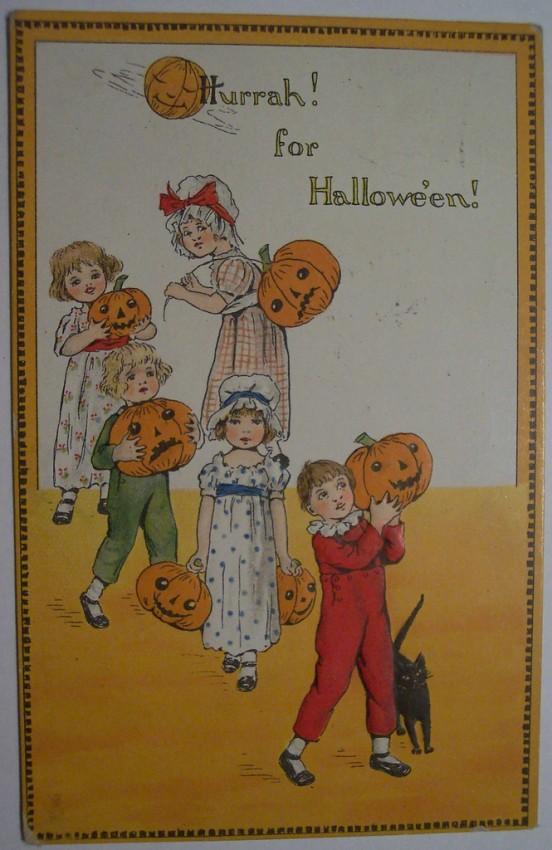 Ilustraciones Halloween antiguas 112