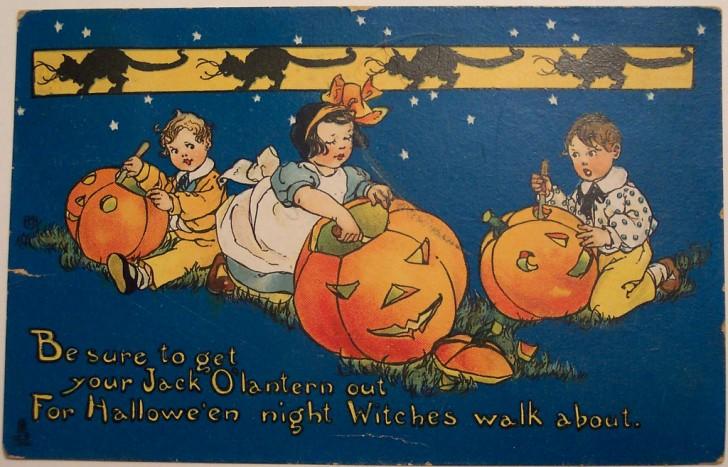 Ilustraciones Halloween antiguas 113