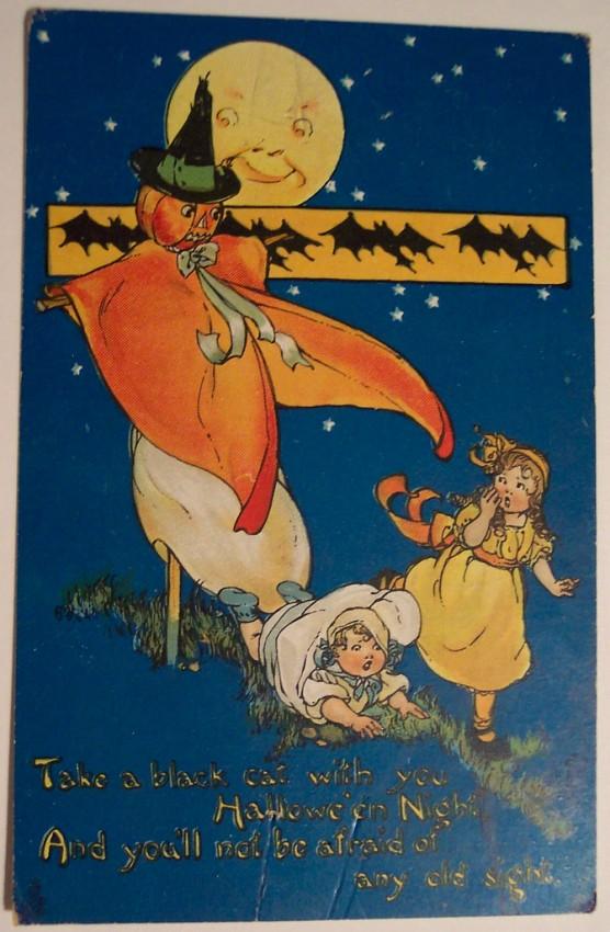 Ilustraciones Halloween antiguas 114
