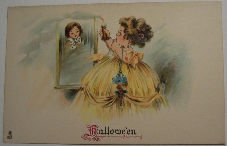 Ilustraciones Halloween antiguas 116