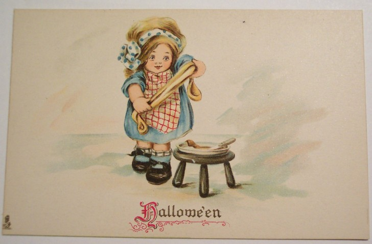 Ilustraciones Halloween antiguas 117
