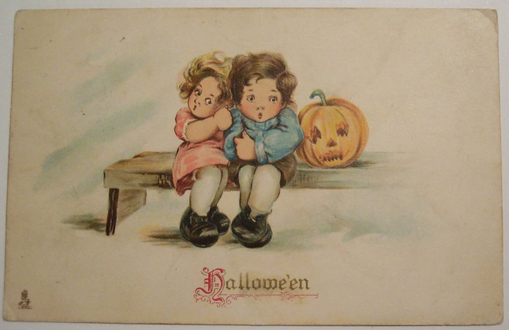 Ilustraciones Halloween antiguas 118