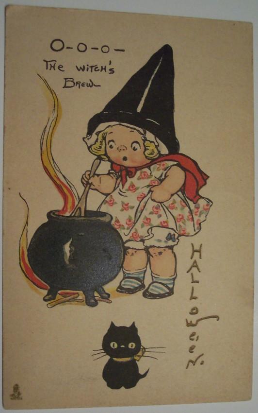 Ilustraciones Halloween antiguas 119