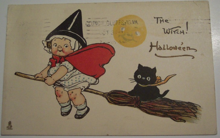 Ilustraciones Halloween antiguas 120