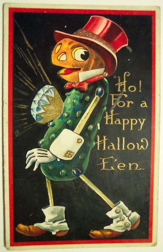 Ilustraciones Halloween antiguas 121