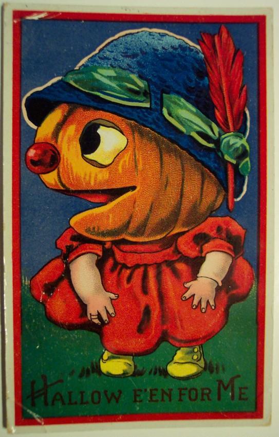 Ilustraciones Halloween antiguas 122