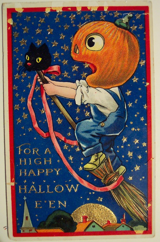 Ilustraciones Halloween antiguas 125