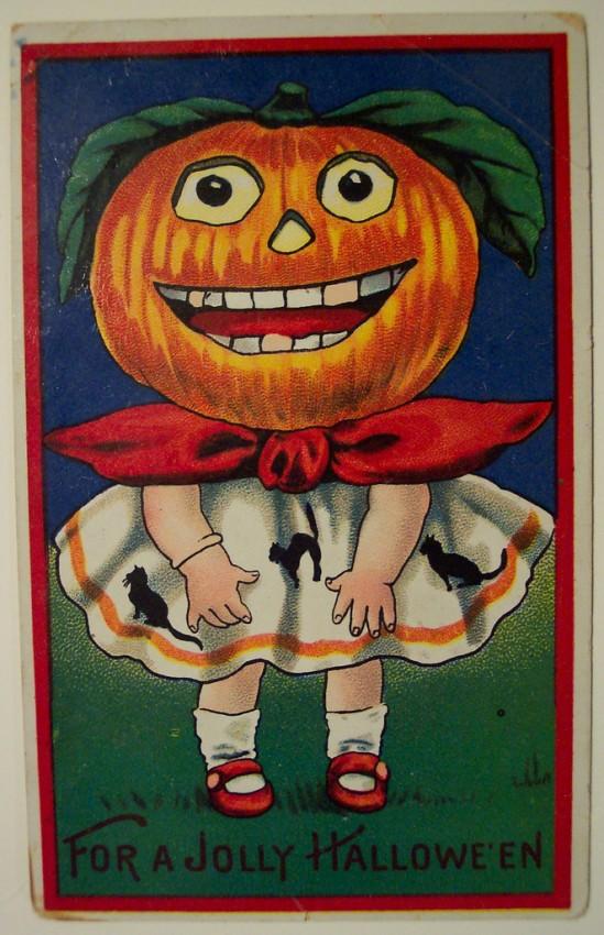 Ilustraciones Halloween antiguas 127